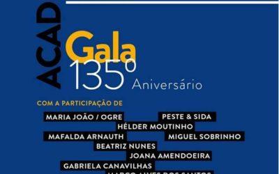 Cartaz da Gala do 135º Aniversário da AAM